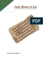 Truth About A Lie -Abu Hasan Al Ridawi