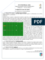 Programma Tecnico 1 Raduno Fun Football