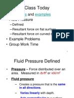 24 Fluid Pressure