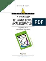 Aventura de Una Vocal Presuntosa