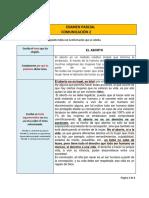 Formato de Examen Parcial II