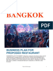 Bangkok Project Report
