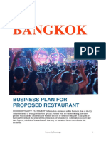 Bangkok Project Report
