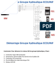 Groupe Hydraulique ECOLPAP
