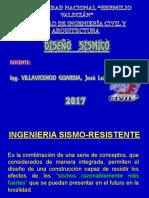 Diapositivas de Diseño Sismico Agosto 2017