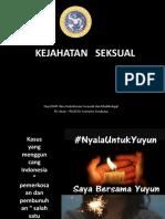Kuliah 21 - Kejahatan Seksual (FK Unair).pptx