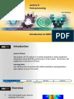 CFX-Intro 16 L05 PostProcessing