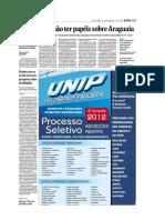 2012-06-14 - Folha SP - Após Vigência Da LAI Exército Diz Não Ter Mais Documentos Sobre Araguaia