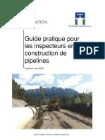 Guide Pratique Pour Les Inspecteurs en Construction de Pipelines 16Mar2016 FrCa