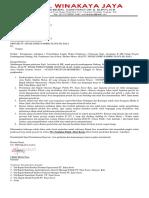 Surat Permohonan Addendum Waktu Pelaksanaan