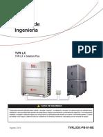 TVR LX + Solution Plus - Manual de Ingeniería (Español)