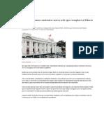 Congreso Planea Construirse Nueva Sede Que Reemplace Al Palacio