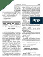 Decreto Supremo Que Aprueba El Reglamento Del Procedimiento Decreto Supremo n 019 2010 Minam 577502 1