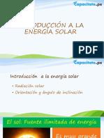Unidad 1 - Introducción a los sistemas fotovoltaicos