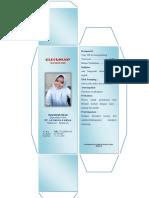 Wadah, Etiket Dan Brosur Emulsi Yang Diprint