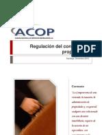 Regulacion del corretaje de propiedades