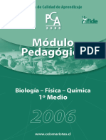 Modulo Pedagógico Biologia - Fìsica y Química PCA 2006