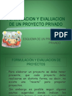 (1) Esquema de Un Proyecto Privado