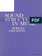 Sound Structure in Music