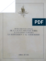 Dictadura - Documento Final