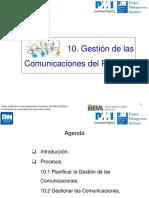 C10 Comunicaciones PMBOK 5a Ed