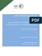 Rapport de la Chambre régionale des comptes d'Ile-de-France