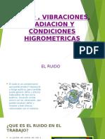 Ruido , Vibraciones, Radiacion y Condiciones Higrometricas