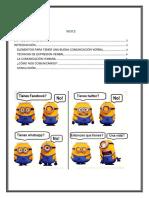 Expresion Verbal Imprimir