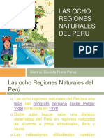 Las Ocho Region Es Natural Es Del Peru