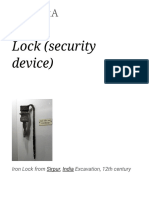 Lock (Security Device)