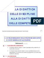 Dalla Didattica Delle Discipline Alla Didattica Delle Competenze Documenti
