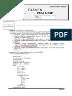 Corrige Examen Fpga 2012 2013