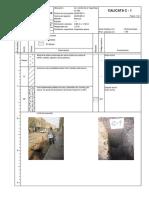 Anexo B, Registro de Excavaciones