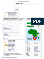 Organisation of African Unity - Wikipedia