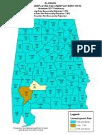 November 2017 County Map