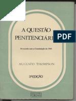 A questão penitenciária de acordo com a constituição de 1988 para comprar o livro acesse