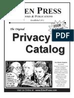 Eden Press Catalog