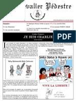 Le chevalier pédestre (Le journal du lycée Jean Monnet - Mortagne au Perche) - hiver 2015 (version Charlie)