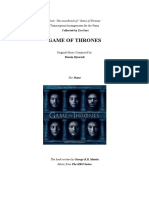 Game of Thrones Complete Piano Booklet