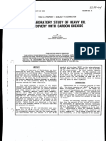 CIM 85-04- Laboratory Study of Heavy Oil Recovery With Carbon Doixide