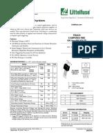 Littelfuse Thyristor 2N6344 D Datasheet