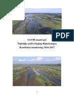 Rapport GGOR Maatregel Tijdelijke Peilverlaging Rijnstrangen