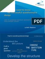 7tips Successful Questionnaire Design
