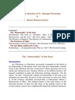 Theology Resurrection Florovsky e