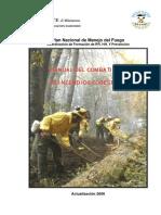 Manual Del Combatiente en incendios Forestales PNMF 2006