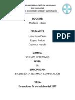 Procesos y Planificador de Procesos