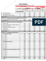 Deviz General Model Excel