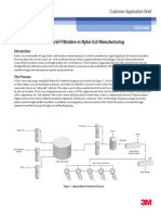 CAB_Customer Application Brief Filtration in Nylon 6,6 Manufacturing