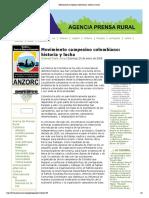 Movimiento Campesino Colombiano- Historia y Lucha