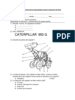 Examen de Cargador Frontal 2
